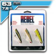 REBEL Pop-R szett 6,35cm/7,8g - 3 SZÍN