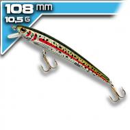 REBEL Tracdown Ghost Minnow - Rainbow trout - 11cm/10,5g