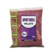 Rod Hutchinson Spicy Krill etető pellet - 500 gr - fűszeres rák