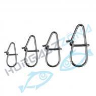 SAVAGE GEAR Needle Eggsnaps - L - pergető kapocs (54921)