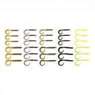 SAVAGE GEAR Rib Worm Kit twister készlet 30db