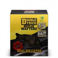 SBS Double Trick Boilie Wafters 20mm - Krill & halibut