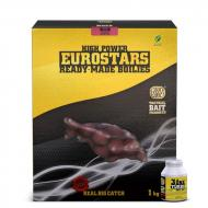 SBS Eurostar Ready-Made Bojli 20mm + 50ml 3in1 Turbo Bait Dip - Szilva-kagyló