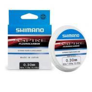 SHIMANO Aspire Fluo 50m 0,30mm fluorocarbon előkezsinór