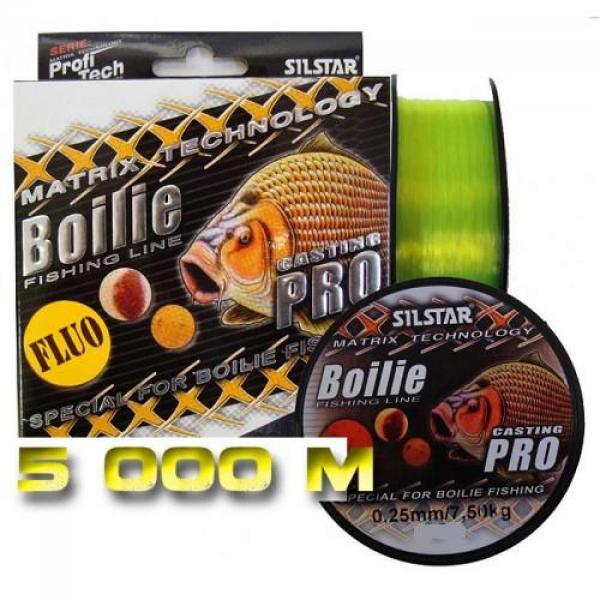 SILSTAR Pt boilie fluo 5000m 0.25