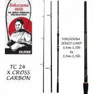 SILSTAR Yokozuna Senso Carp 3,6m/3,5Lbs 3részes