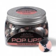 SONUBAITS Ian Russel's Pop Ups Peach and Black Pepper - barack és feketebors