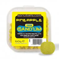 SONUBAITS Mini Bandum süllyedő csalizó pellet 5 mm - Ananász
