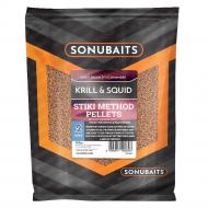 SONUBAITS Stiki Method Micropellet 2mm - Krill & Squid
