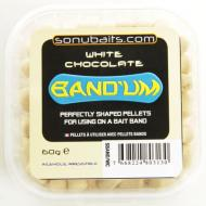 SONUBAITS Band'Um süllyedő csalizó pellet 7 mm - Fehér csoki