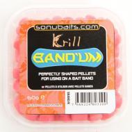 SONUBAITS Band'Um süllyedő csalizó pellet 7 mm - Krill
