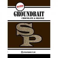STÉG PRODUCT Groundbait - Csoki & Narancs etetőanyag 1kg
