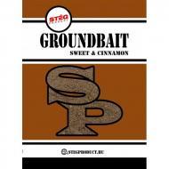 STÉG PRODUCT Groundbait - Fahéj etetőanyag 1kg