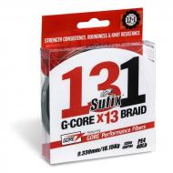 SUFIX 131G - Core Braided 12+1szálas 150m/ 0.185mm zöld