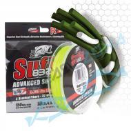 SUFIX 832 braid 120m 0,15mm Neon Lime pergető fonott zsinór