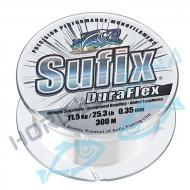 SUFIX Duraflex 0.35mm 300m víztiszta monofil