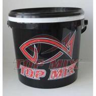 TOP MIX Etető keverő vödör csalitálcával - 5 literes