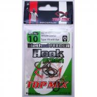 TOP MIX Method Feeder Horog 10-es - zöld/green