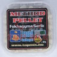 TOP MIX Mega method pellet fokhagyma