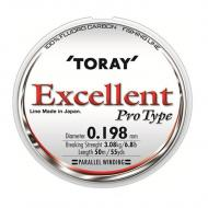 TORAY Excellent 0,134mm/50m Fluorocarbon