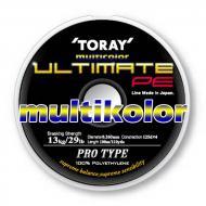 TORAY Ultimate PE 4x 0,185mm/100m - Multicolor
