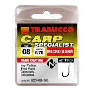 TRABUCCO Carp Specialist mikro szakállas horog 10-es