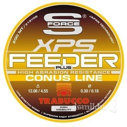TRABUCCO Feeder Plus conus 200m 0,25/0,35mm
