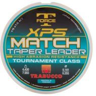 TRABUCCO T-Force XPS MATCH TAPER LEADER 0,16/0,22mm távdobó előke