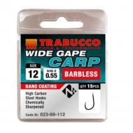 TRABUCCO Wide Gape Carp szakáll nélküli horog 14-es