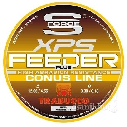TRABUCCO Feeder Plus conus 200m 0,18/0,30mm