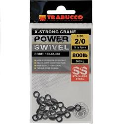 TRABUCCO X-Strong Crane power swivel 01 extra erős forgókapocs