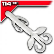YUM Christie Critter 11cm - White 8db