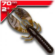 YUM Craw Papi - Green Pumpkin Purple Flake 6,9cm/12db - aromával