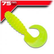YUM Grub Chartreuse 7,6cm / 15db aromásított twister
