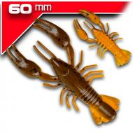 YUM NED Craw-Soft - Brown Orange - 6cm/7db