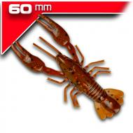 YUM NED Craw-Soft - Brown Orange Flake - 6cm/7db