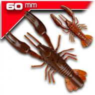 YUM NED Craw-Soft - Dark Brawn/Red Brawn - 6cm/7db