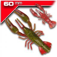 YUM NED Craw-Soft - Green Pumpkin Red - 6cm/7db