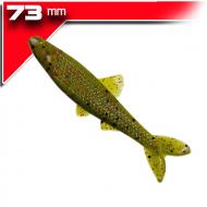 YUM Ned Minnow - Soft Watermelon Red Flake 7,3cm/8db gumihal