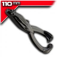YUM Tip Toad - Black - 11cm 5db