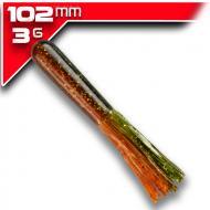 YUM Tube - Camo 10cm/6db aromásított gumicsali