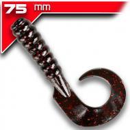 YUM Walleye Grub 7,5cm Black Neon 12db
