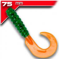 YUM Walleye Grub 7,5cm FireTiger 12db