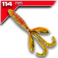 YUM Wooly HawgTail - Dark Grasshopper 11,4cm 7db - aromával