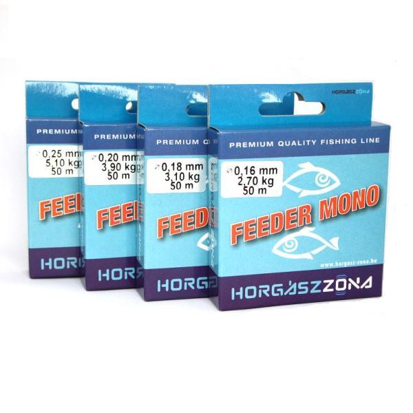ZÓNA HZ mono feeder előkezsinór 0,18mm 50m