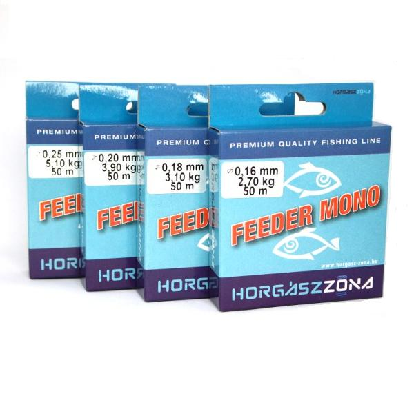 ZÓNA HZ mono feeder előkezsinór 0,22mm 50m