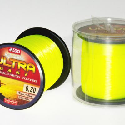 ULTRA CAST 0,39mm/1000 m - fluo sárga