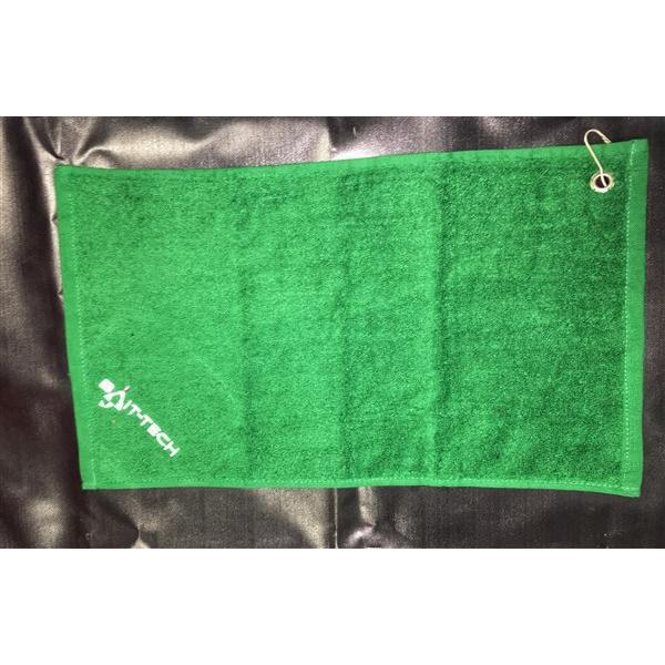 zöld törölköző