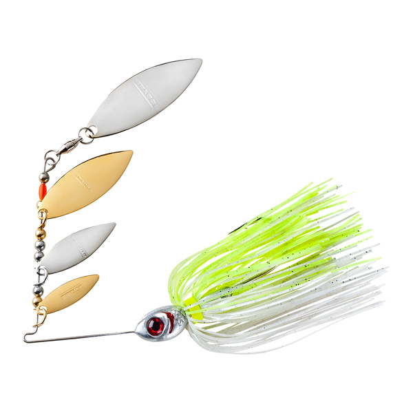 Super Shad Spinner - Silver Chartreuse 10g