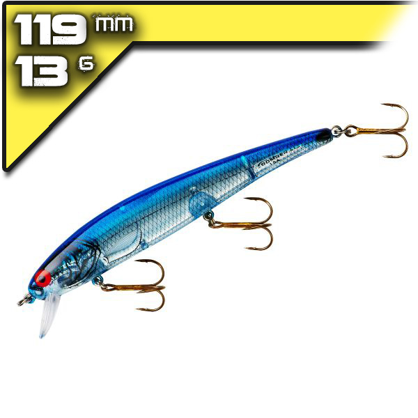 Suspend Pro Long AP15 Silver Flash Blue Back 11,84cm/15,2g wobbler